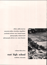 Page 8, 1957 Edition, Madison East High School - Tower Tales Yearbook (Madison, WI) online yearbook collection