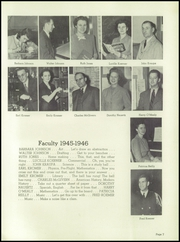 Page 11, 1946 Edition, Washington High School - Neshotah Yearbook (Two Rivers, WI) online yearbook collection