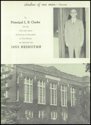 Page 7, 1953 Edition, Washington High School - Neshotah Yearbook (Two Rivers, WI) online yearbook collection