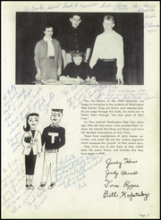 Page 7, 1958 Edition, Washington High School - Neshotah Yearbook (Two Rivers, WI) online yearbook collection