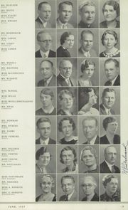 Page 17, 1937 Edition, North Division High School - Tattler Yearbook (Milwaukee, WI) online yearbook collection