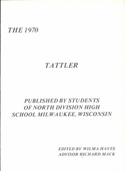 Page 5, 1970 Edition, North Division High School - Tattler Yearbook (Milwaukee, WI) online yearbook collection