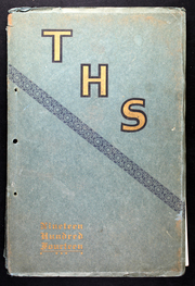 Tomah High School - Hamot Yearbook (Tomah, WI) online yearbook collection, 1914 Edition, Page 1