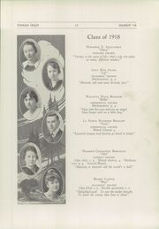 Page 15, 1918 Edition, Tomah High School - Hamot Yearbook (Tomah, WI) online yearbook collection