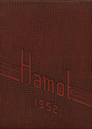 1952 Edition, Tomah High School - Hamot Yearbook (Tomah, WI)