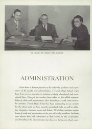 Page 10, 1952 Edition, Tomah High School - Hamot Yearbook (Tomah, WI) online yearbook collection