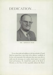 Page 8, 1952 Edition, Tomah High School - Hamot Yearbook (Tomah, WI) online yearbook collection