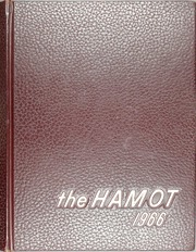 1966 Edition, Tomah High School - Hamot Yearbook (Tomah, WI)