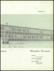 Page 7, 1957 Edition, Custer High School - Warrior Yearbook (Milwaukee, WI) online yearbook collection