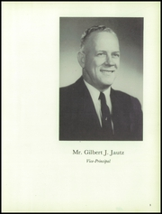 Page 9, 1957 Edition, Custer High School - Warrior Yearbook (Milwaukee, WI) online yearbook collection