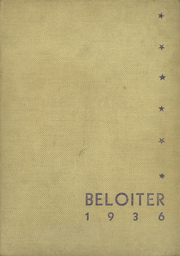 Page 1, 1936 Edition, Beloit Memorial High School - Beloiter Yearbook (Beloit, WI) online yearbook collection