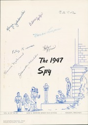 Page 7, 1947 Edition, Bradford High School - Spy Yearbook (Kenosha, WI) online yearbook collection