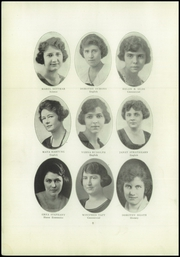 Page 10, 1922 Edition, Lincoln High School - Flambeau Yearbook (Manitowoc, WI) online yearbook collection