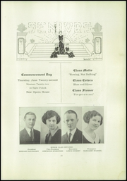 Page 13, 1922 Edition, Lincoln High School - Flambeau Yearbook (Manitowoc, WI) online yearbook collection
