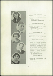 Page 16, 1922 Edition, Lincoln High School - Flambeau Yearbook (Manitowoc, WI) online yearbook collection