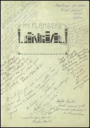 Page 3, 1922 Edition, Lincoln High School - Flambeau Yearbook (Manitowoc, WI) online yearbook collection