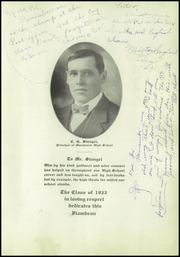 Page 7, 1922 Edition, Lincoln High School - Flambeau Yearbook (Manitowoc, WI) online yearbook collection