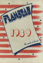 Page 1, 1939 Edition, Lincoln High School - Flambeau Yearbook (Manitowoc, WI) online yearbook collection