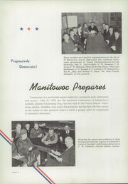 Page 10, 1939 Edition, Lincoln High School - Flambeau Yearbook (Manitowoc, WI) online yearbook collection