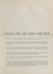 Page 9, 1944 Edition, Lincoln High School - Flambeau Yearbook (Manitowoc, WI) online yearbook collection