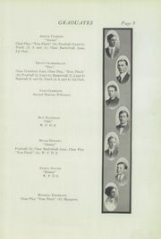 Page 15, 1912 Edition, Central High School - Booster Yearbook (La Crosse, WI) online yearbook collection