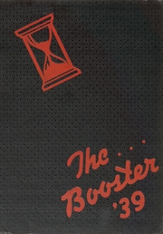 Central High School - Booster Yearbook (La Crosse, WI) online yearbook collection, 1939 Edition, Page 1