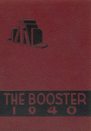 Central High School - Booster Yearbook (La Crosse, WI) online yearbook collection, 1940 Edition, Page 1