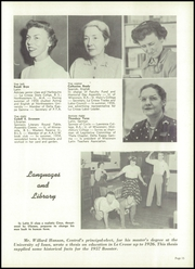 Page 17, 1957 Edition, Central High School - Booster Yearbook (La Crosse, WI) online yearbook collection