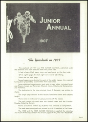 Page 9, 1957 Edition, Central High School - Booster Yearbook (La Crosse, WI) online yearbook collection
