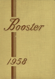 1958 Edition, Central High School - Booster Yearbook (La Crosse, WI)
