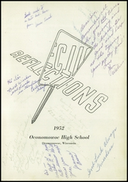 Page 5, 1952 Edition, Oconomowoc High School - Reflections Yearbook (Oconomowoc, WI) online yearbook collection