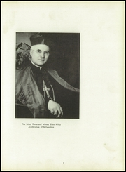 Page 13, 1950 Edition, Pius XI High School - Journal Yearbook (Milwaukee, WI) online yearbook collection