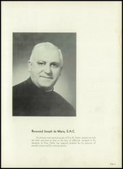 Page 9, 1951 Edition, Pius XI High School - Journal Yearbook (Milwaukee, WI) online yearbook collection
