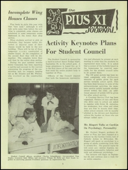 Page 5, 1956 Edition, Pius XI High School - Journal Yearbook (Milwaukee, WI) online yearbook collection