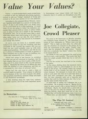 Page 12, 1959 Edition, Pius XI High School - Journal Yearbook (Milwaukee, WI) online yearbook collection
