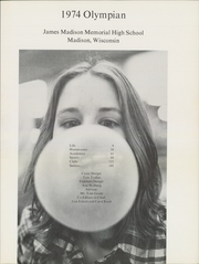 Page 5, 1974 Edition, James Madison Memorial High School - Olympian Yearbook (Madison, WI) online yearbook collection