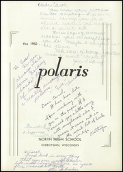 Page 5, 1950 Edition, North High School - Polaris Yearbook (Sheboygan, WI) online yearbook collection