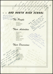 Page 7, 1950 Edition, North High School - Polaris Yearbook (Sheboygan, WI) online yearbook collection