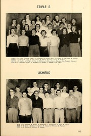 Page 117, 1953 Edition, West High School - West Hi Way Yearbook (Green Bay, WI) online yearbook collection