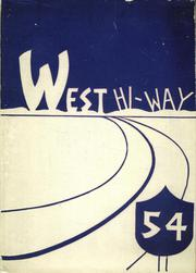 1954 Edition, West High School - West Hi Way Yearbook (Green Bay, WI)