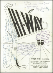 Page 5, 1955 Edition, West High School - West Hi Way Yearbook (Green Bay, WI) online yearbook collection