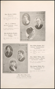 Page 13, 1923 Edition, Rhinelander High School - Hodag Yearbook (Rhinelander, WI) online yearbook collection