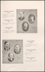 Page 17, 1923 Edition, Rhinelander High School - Hodag Yearbook (Rhinelander, WI) online yearbook collection