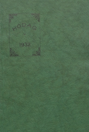 Rhinelander High School - Hodag Yearbook (Rhinelander, WI) online yearbook collection, 1932 Edition, Page 1