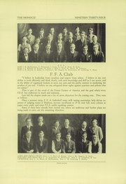 Page 10, 1934 Edition, Chippewa Falls High School - Monocle Yearbook (Chippewa Falls, WI) online yearbook collection