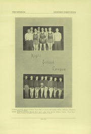 Page 12, 1934 Edition, Chippewa Falls High School - Monocle Yearbook (Chippewa Falls, WI) online yearbook collection