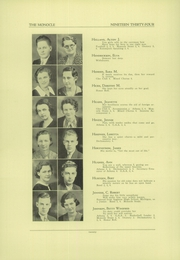 Page 6, 1934 Edition, Chippewa Falls High School - Monocle Yearbook (Chippewa Falls, WI) online yearbook collection