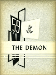 1959 Edition, Burlington High School - Demon Yearbook (Burlington, WI)