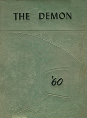 1960 Edition, Burlington High School - Demon Yearbook (Burlington, WI)
