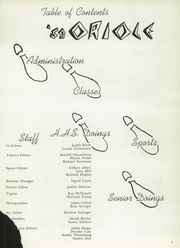 Page 5, 1959 Edition, Hartford High School - Oriole Yearbook (Hartford, WI) online yearbook collection